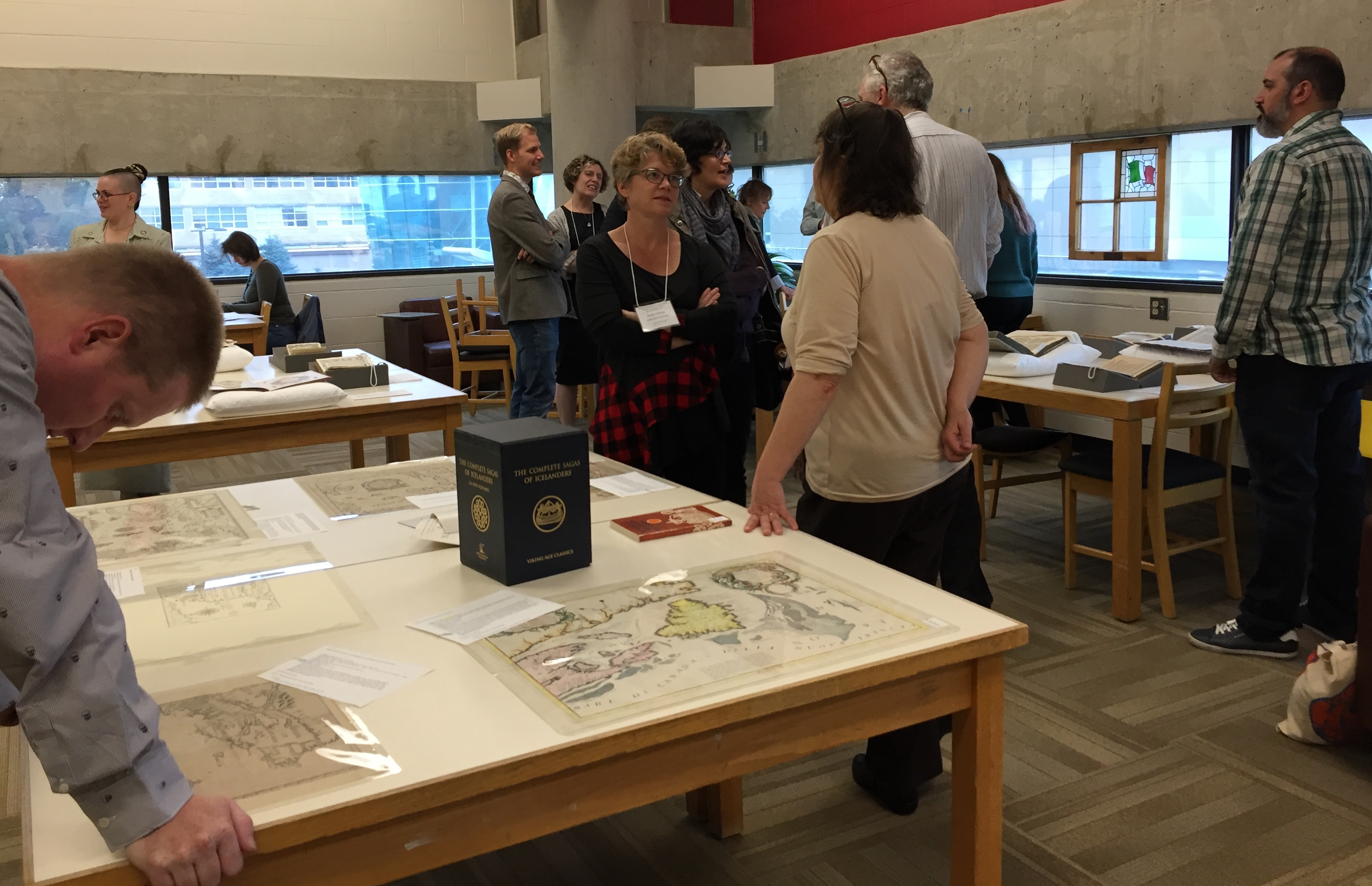 AMA conference 2019 - Discussion and debate at the MUN Library rare books, manuscript, and incunabula workshop.